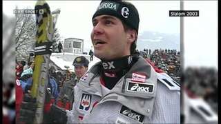 Alpine ski 2003 Kitzbuhel slalom