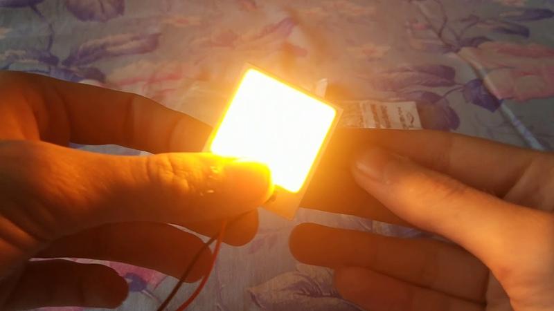 Светодиодная матрица распаковка с Алиэкспресс Обзор
