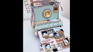 Say Cheese Camera Box Tutorial