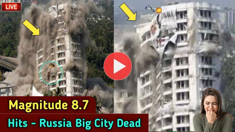 8 7 Deadly Magnitude hits Saint Petersburg Russia's Russia Earthquake Today Weather Today