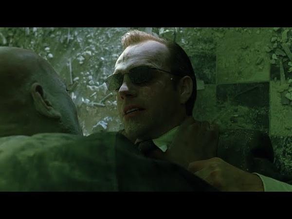 Smith vs Morpheus The Matrix Open Matte