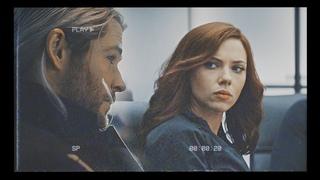 Thor + Natasha || Hold on ||