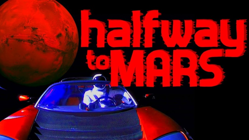 Halfway to Mars - Oscar Castellino - The Mars Society