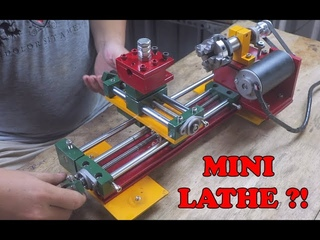 Homemade Mini Lathe Machine - Mini Lathe Build