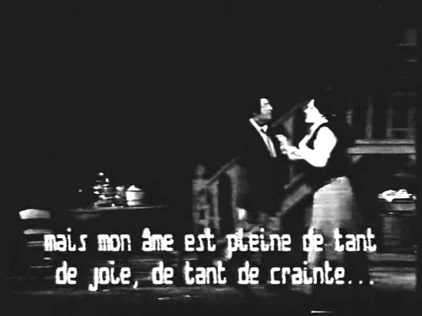 Fanciulla del West Renato Francesconi Galina Savova Bourdeaux duet first act