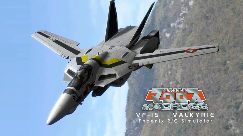 Macross VF-1S Valkyrie build for Phoenix RC simulator