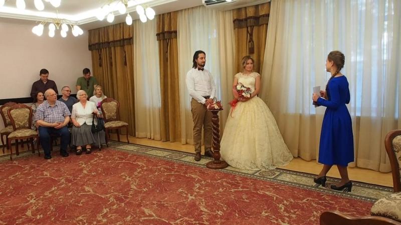 P8170327 ЕЩЁ ОДНА МОЛОДАЯ СЕМЬЯ г Москва 17 08 2017 Регистрация брака Анны и Александра