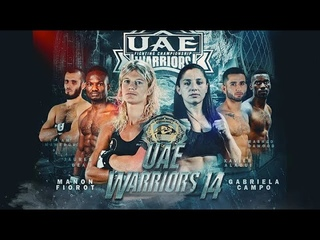 UAE Warriors 14 Live from Abu Dhabi | Live MMA Event | MMA Middle East