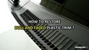 SOFT99 G'zox Nano Hard Plastics Coat How To Restore Dull and Faded Plastic Trim