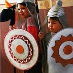 Щит и шлем для Могучего Богатыря. МК