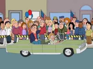 Family Guy Veterans Day Parade
