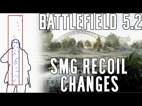 5.2 SMG Recoil Changes - Battlefield V