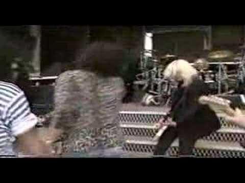 Slash Duff Train Kept A Rollin rehearse with Aerosmith