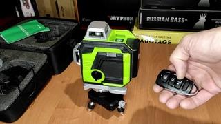 Лазерный 3D уровень CLUBIONA IE12SG с алиэкспресс, обзор, сравнение с Instrumax Constructor 4D