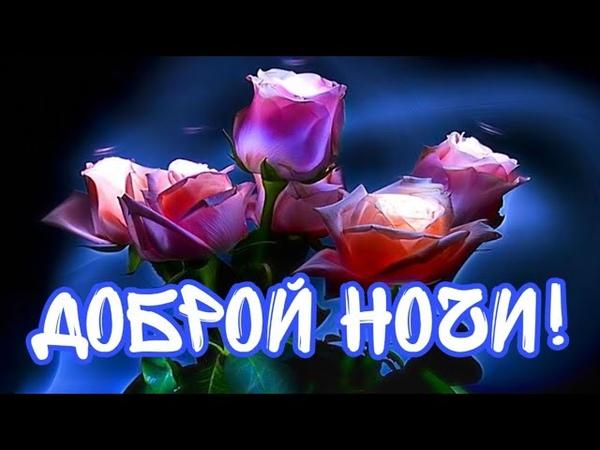 Красивое Пожелание Спокойной Ночи Спокойной Ночи и Сладких Снов Видео Пожелания Доброй Ночи