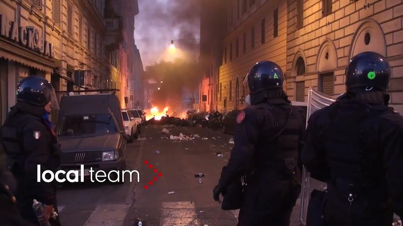 Archivio Local Team scontri Roma 15 ottobre 2011 ore di guerriglia
