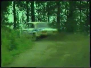 AZLK 1600 SL Rallye & Lada VFTS. 1000 lakes rally 1985