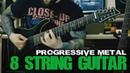 8 String Prog Metal - Metalcore || Schecter Hellraiser C8 | Mercuriall U530 | EZ Mix