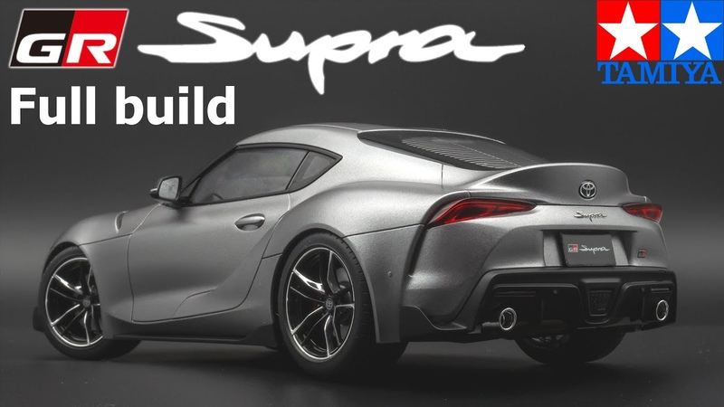 1 24 Toyota GR Supra full build Tamiya 24351