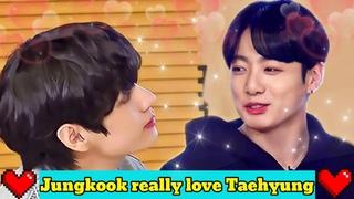 The way Jungkook really love Taehyung