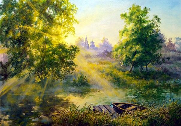 Виктор Иванович Андреев (1914-1999 пришел в большое искусство не совсем обычным путем. В его биографии отсутствовали общепринятые ступени постижения профессии художника - детская школа