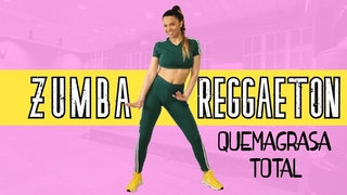 ZUMBA DANCE REGGAETON para BAJAR de PESO 🔥🔥🔥QUEMAGRASA TOTAL🔥🔥🔥  (COMPLETA)