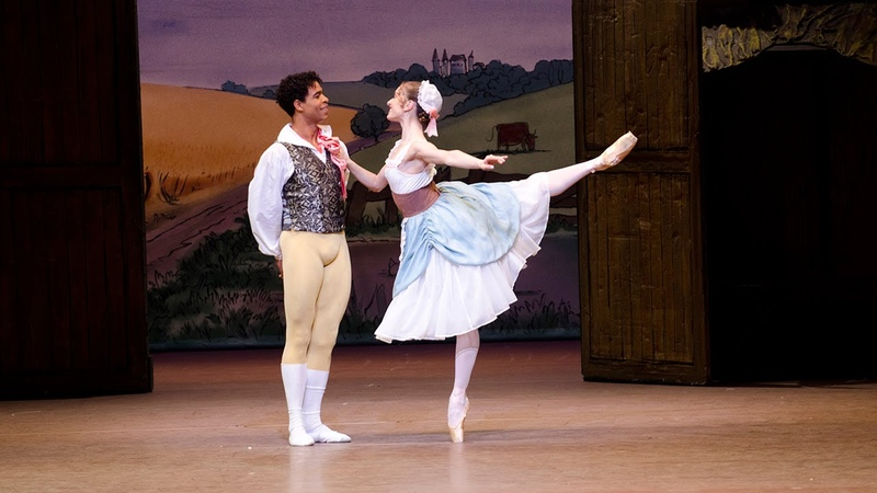 La fille mal gardée Pas de ruban from Act I The Royal Ballet