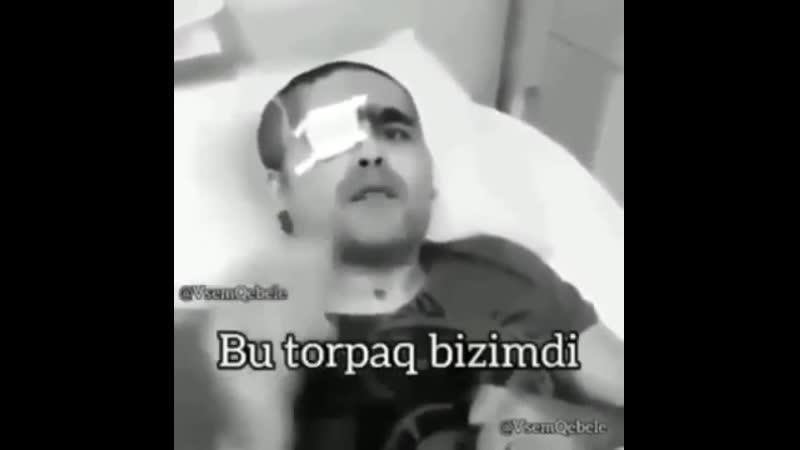 Gözlərinə qurban olduğum Allahın Salamı Rəhməti olsun üzərinə Şəhidim