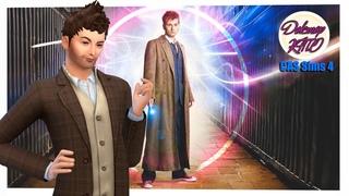 TS4 CAS  🏢 Доктор Кто / Дэвид Теннант 🏢 Сим на скачку и Подкаст .