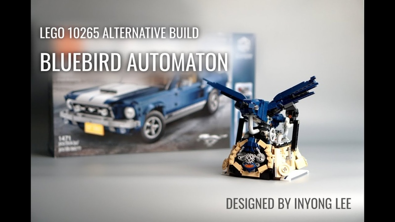 LEGO R 10265 Alternative Build Bluebird Automaton