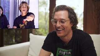 REACTING TO MY DAZED AND CONFUSED AUDITION | Matthew Mcconaughey