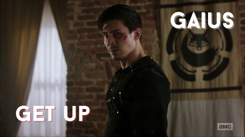 Gaius and The Widow Into The Badlands Get Up