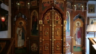 Храм прп. Серафима В Кунцеве. Трансляция богослужений: