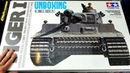 TAMIYA 1/16 TIGER 1 RC Tank BOVINGTON TIGER Build Series Video 1 - UNBOXING