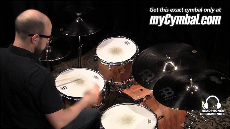 Meinl 20 Mb10 Medium Ride Cymbal Played by Gabriel Harris MB10 20MR B 1060413MM