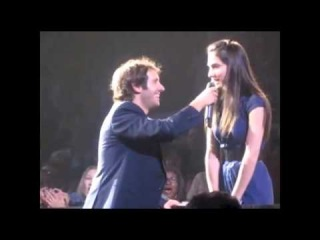 Josh Groban Picks a Girl From the Audience to Sing a  She Nails It! - Inspirational Videos