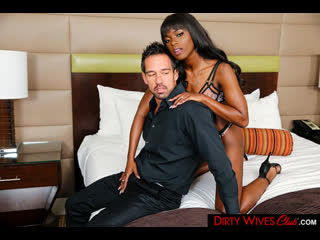 Ana Foxxx - Dirty Wives Club - All Sex Hardcore Ebony hairy Pussy Ball Licking Lingerie Gonzo Cumshot Big Dick Cock, Порно