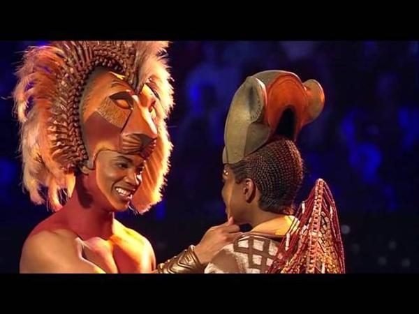 Ensemble Musical König der Löwen Der ewige Kreis Kann es wirklich Liebe sein 2015