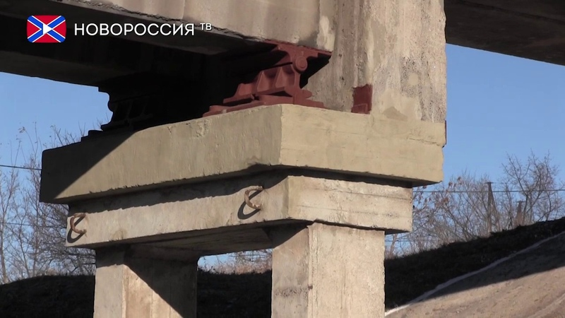 Открыто движение поездов по восстановленному путепроводу на перегоне Чумаково-Ларино