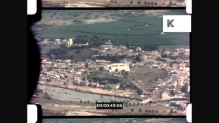 1950s, 1960s Ghana, Coastline Aerials Over Takoradi, Elmina Castle, Home Movies, 16mm