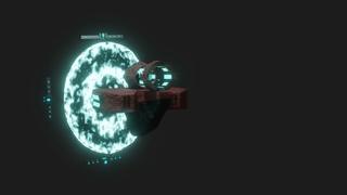 Blender 3D animation - RailJack (60 fps)