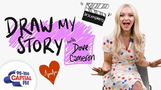 Dove Cameron's Terrifying Final Day Filming Descendants   Draw My Story   Capital
