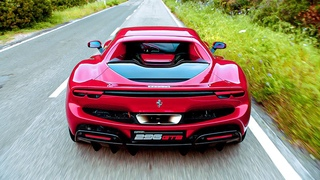 Ferrari 296 GTB   830HP Plugin Hybrid V6 Engine Supercar