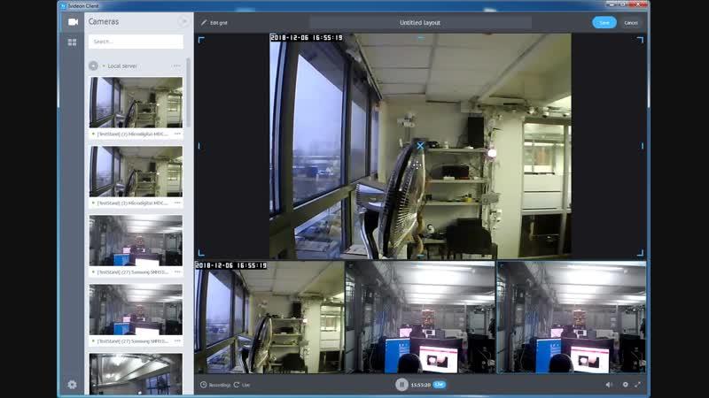 Обновление Ivideon Desktop Client 6 7 0 полная свобода расположения раскладок