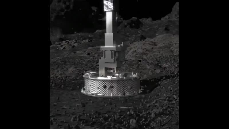 Зонд OSIRIS REx впервые дотронулся до поверхности астероида Бенну