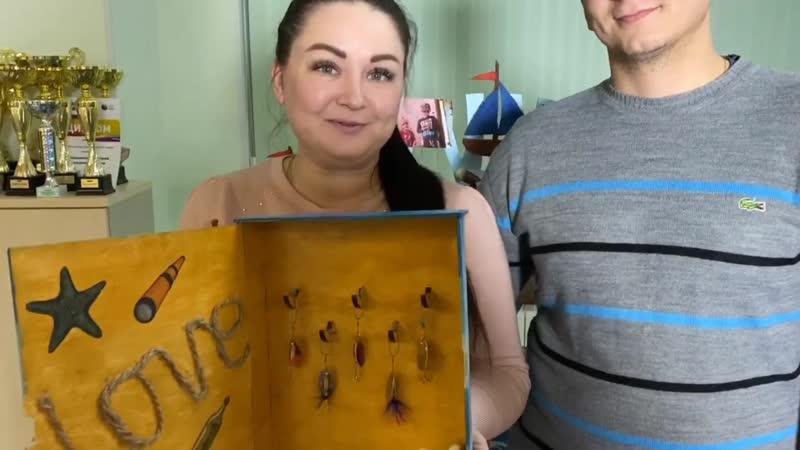 Вручение ключницы от семьи Кривошеевых