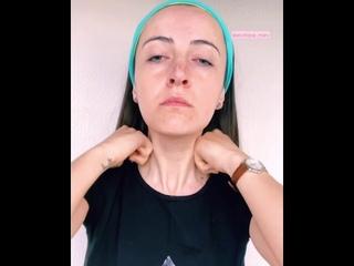 Мыльный массаж лица