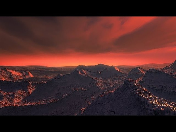Exploring the surface of a super Earth orbiting Barnard's Star Artist's impression