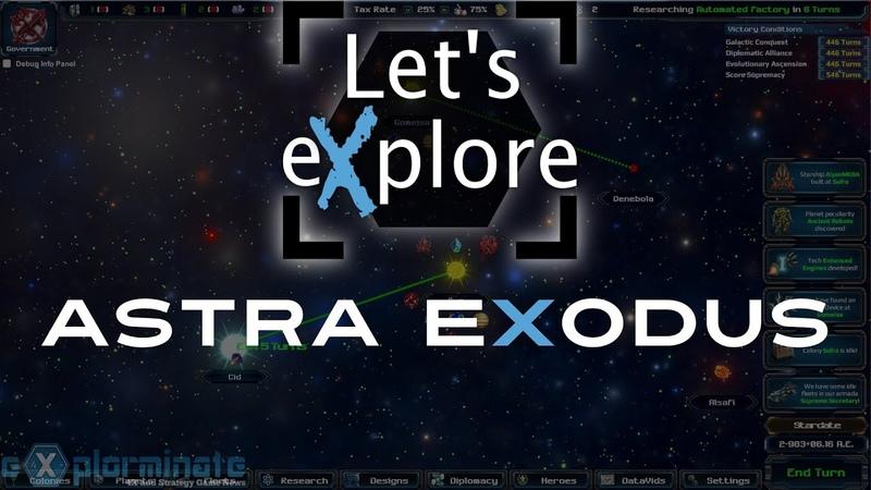 Let s eXplore Astra Exodus Beta