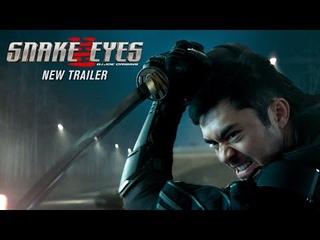 """Snake Eyes NEW Trailer   """"Behind The Mask"""" (2021 Movie)   Henry Golding, G.I. Joe"""